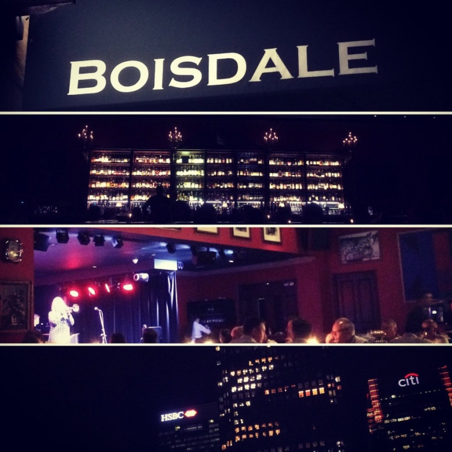 Boisdale of Canary Wharf – a perfect steak!