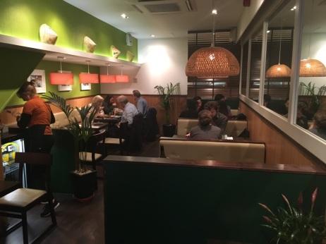Viet Café Interior