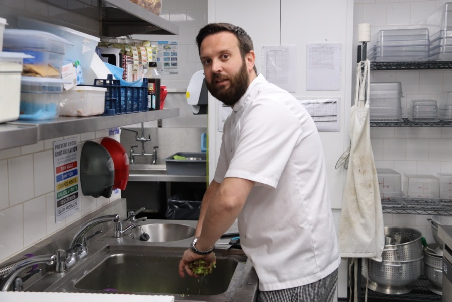 Dave Cousin – Head Chef, Straight + Narrow Restaurant