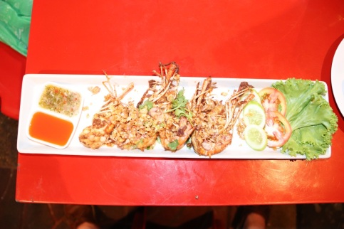 Garlic & Pepper Shrimp