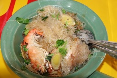 Glass Noodle Salad with Prawns