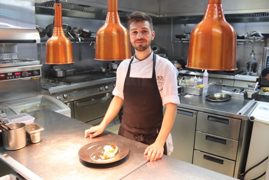 Chef Profile:  ARTURO GRANATO Executive Chef, Avista Restaurant, Grosvenor Square, London.